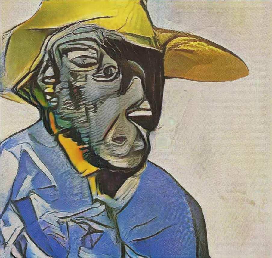Cabeça de homem sob Picasso product image