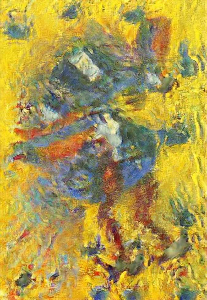 Um galo no jardim de Monet product image